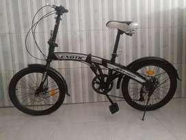 Jual cepat Sepeda lipat folding bike ring 20 7 speed