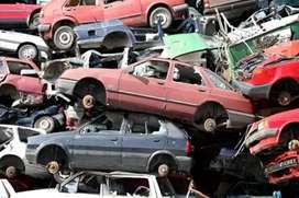 Parches scrap cars