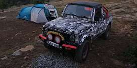 2009 Maruti Gypsy (Petrol) 4X4. ORIGINAL MILES