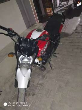Single handed, accident free bike, all spares are genuine