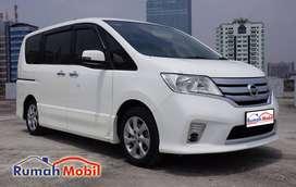 Nissan Serena HWS 2.0 AT 2013 White Metalic DP Minim Full ORI