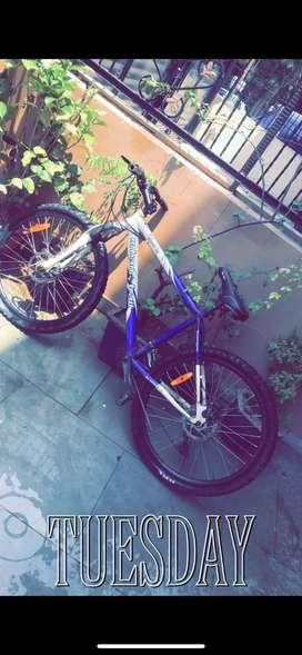 Urban trail 26 inch, shimano gears