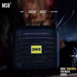 Onix mini square box bluetooth speaker V4.2