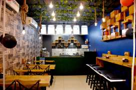 RUNNING CAFE ON SELL ( property will remain on rent)