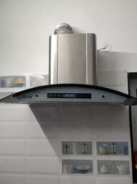 Kitchen Hood chimney