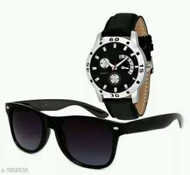 Watches nd sunglasses combo