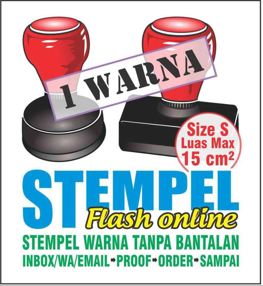 Buat Stempel Warna/Flash/Otomatis 1 Warna, size S 0