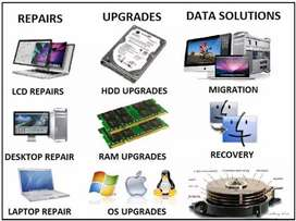 PC/LAPTOP/NETWORKING / SYS ADMINS WORKS DONE HERE