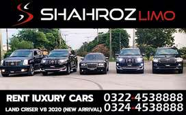 Limousine for rent in pakistan