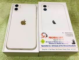 iPhone 11 White 64GB Only 1.5 Month Used In Good Condition.