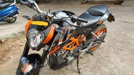Ktm duke 390 abs for sale gud in condition all papers are in force