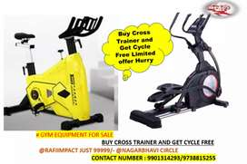 Buy Cross trainer and get cycle free