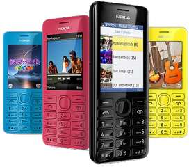 Nokia Asha 206 Original Nokia PTA Approved || Delivery All Pak