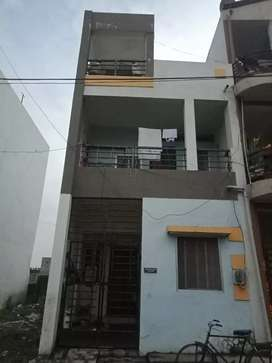 A duplex house with Narmada water supply and approved layout for sale