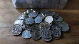 Uang jadul untuk koleksi dan mahar