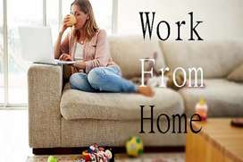 Students can apply for home based jobs part time