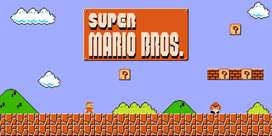 Tv video game mario Contra n other 1 lakh games