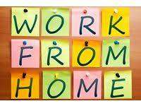 HOME WORK - part time project income for all without any charges