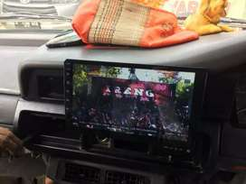 TV Mobil 9inch Android Kijang Grand TikTok Youtube Maps BONUS Masang
