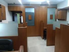 Furnished office available on rent prime location