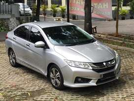 Honda City 1.5 E (RS) CVT 2015 warna Silver Metalik HARGA KHUSUS CASH