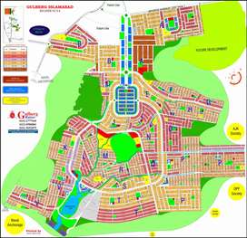7M Develop plot available for sale in M Block Gulberg Residencia