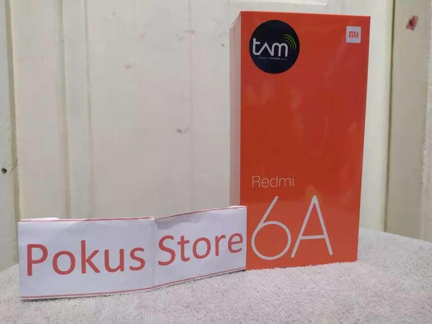 Xiaomi Redmi 6A TAM 2/16 GB (Black) No repack,No Sobek,No Penyok 0