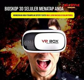 VR BOX 2 3D Besar Virtual Reality Glases 3 Dimensi (Kacamata 3 D)
