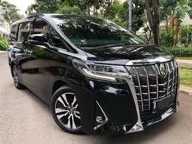 Toyota Alphard G ATPM 2018 Low KM. Like New