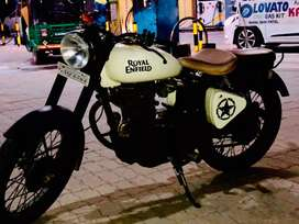 Fully modified royal Enfield old model