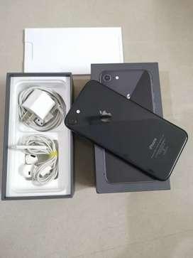 I PHONE 8 64GB LIKE NEW CONDITION ALL ORIGINAL ACCESSORIES