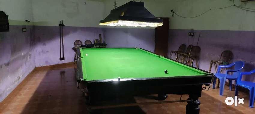 Snooker table's ( 1 standard T 12/6, 1 medium T 10/5,  2 pool T - 8/4)