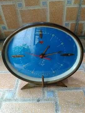 Diamond jam meja alarm vintage normal dan akurat all original Rare
