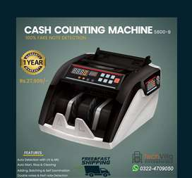 Cash counting machines note counting machines 100000% Fake note detect