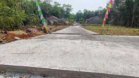 Tanah Kavling Siap Bangun Murah Berkualitas Jalan Cor Bertulang