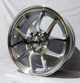 Jual velg HSR Ring 15 Untuk mobil Brio, Agya, ayla, Karimun,