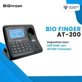 Jual Mesin Absensi Fingerprint Di Malang Murah Bio Finger AT-200