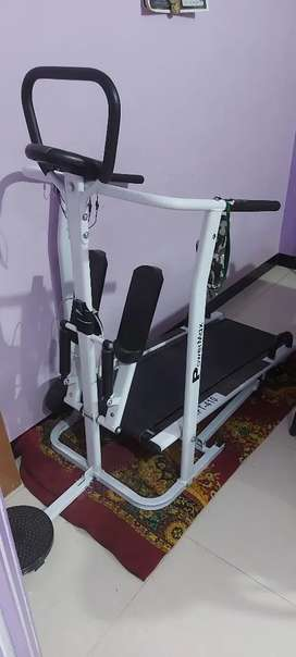 10000rs  best condition new treadmill  2 moths old with powermax