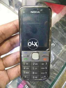 Nokia C5 PTA Approved Original Phone Box Pack with Free Delivery