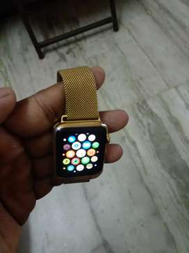 Apple watch 42mm gold stainless steel series 1