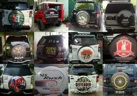 Cover/sarung Ban Serep 4r escudo jeep Rush Terios Taruna Touring no pr