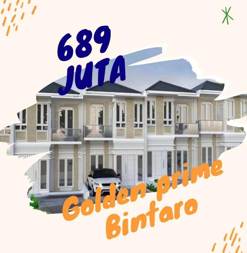 Rumah Mewah 2 Lantai Cantik Golden Prime Bintaro 0