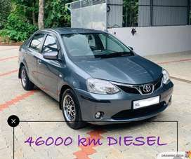 Toyota Etios GD SP, 2016, Diesel