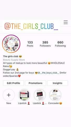 The girls club on instagram
