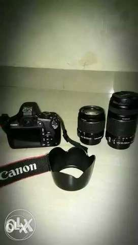 Canon 1200D DSLR Camera With Bag For Rent