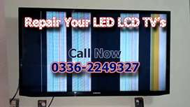 Repair Your Faulty LCD & LED TV At Lowest Cost.