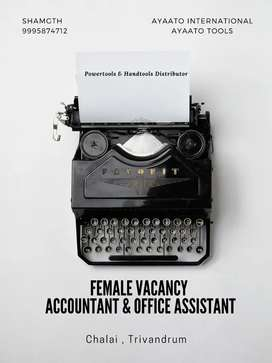 Office assistant and Accountant