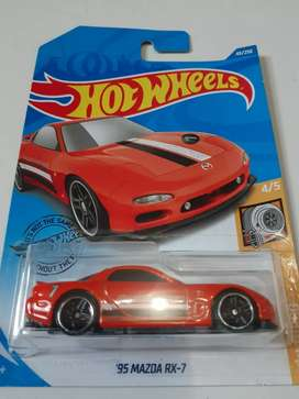 Hotwheels 95 Mazda Rx-7
