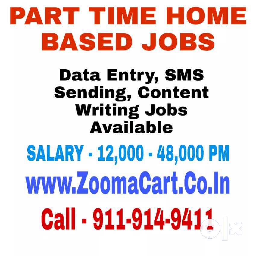 Part Time Home Based Data Entry Job 0