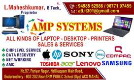 AMP SYSTEMS LAPTOP AND DESKTOP SERVICES